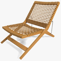 c4d outdoor folding chair