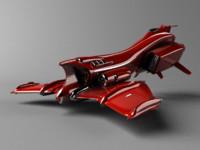3d model d-ride bomber