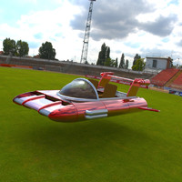 free obj model retro racer