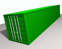 3dsmax shipping container
