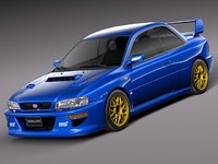 3ds japan car sport subaru impreza