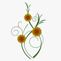 maya wall flowers fg