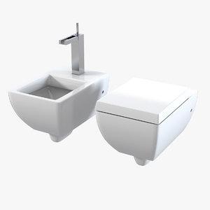 gessi mimi bathroom set 3d max