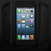 3d apple iphone 5 phone