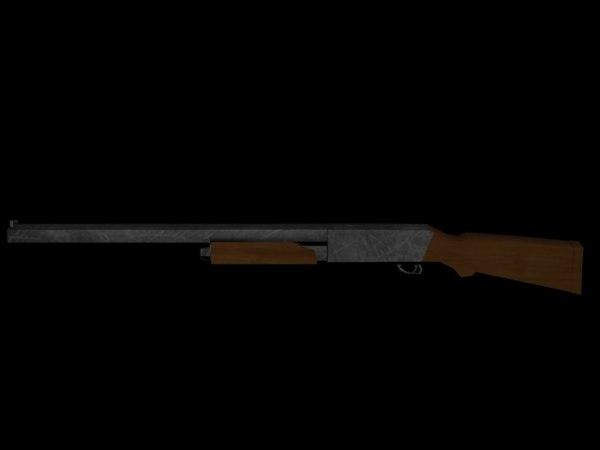 free remington 3d model