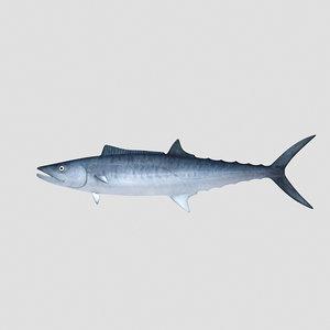 fish mackerel 3d model