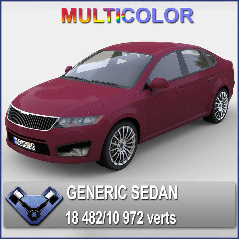 max generic sedan madeon