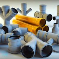 plastic pipe 3d max