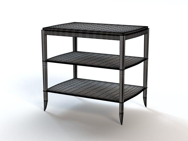max atlantic table shelves
