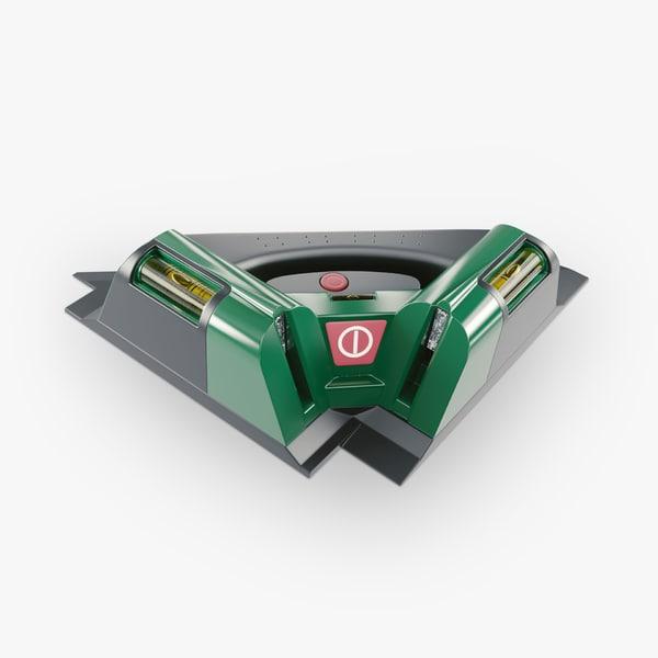 tile laser 3d model