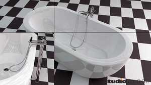 3d bathtub design