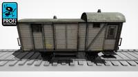 freight wagon ws 04 obj