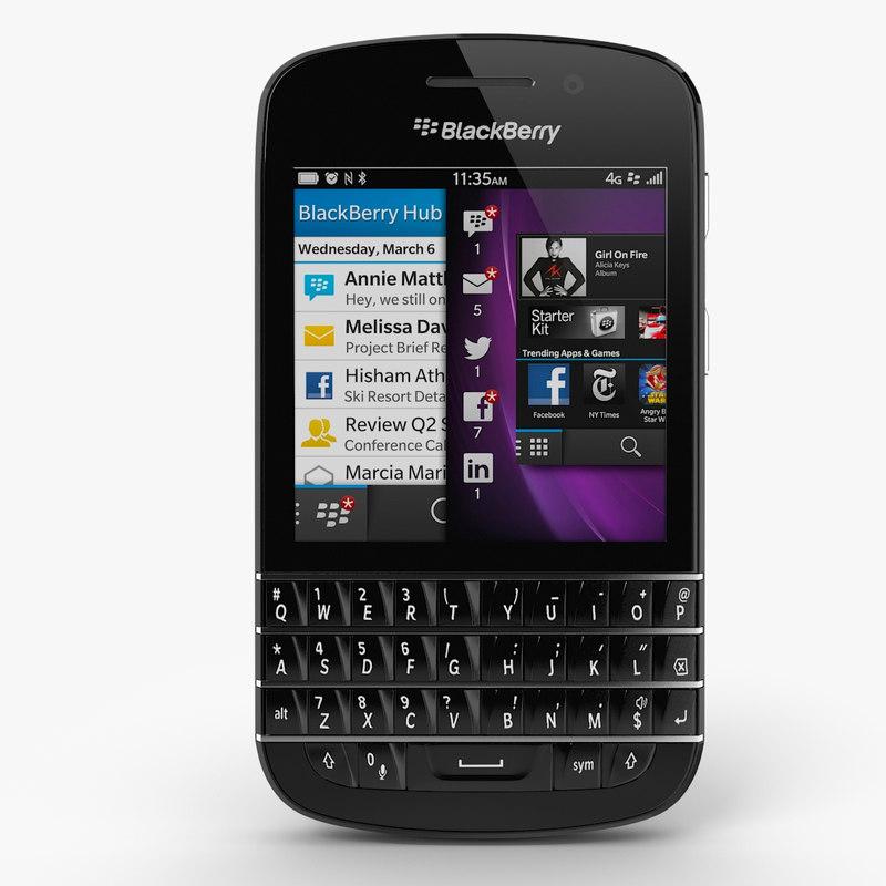 3d blackberry q10