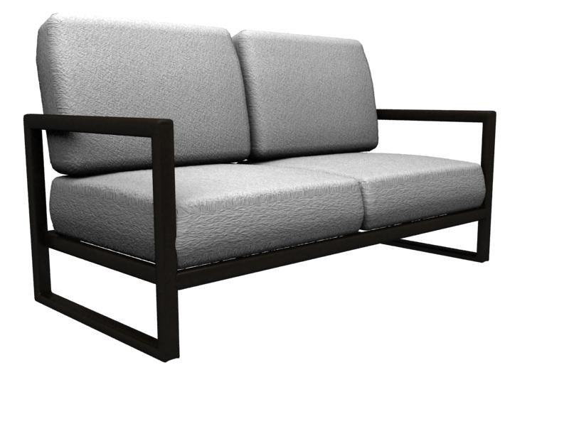 minimalist sofa 3d model