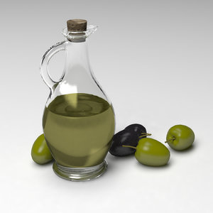 3ds max olive oil