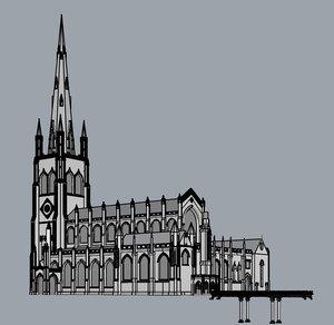 trinity church new york 3dm