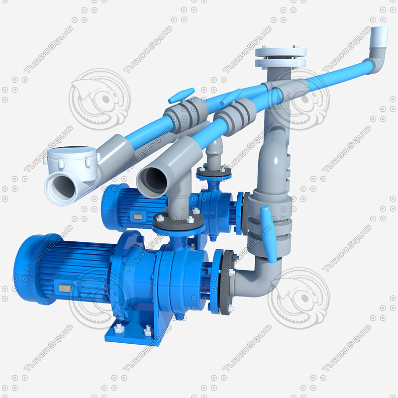 3d electric pump