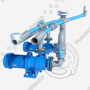3d electric pump