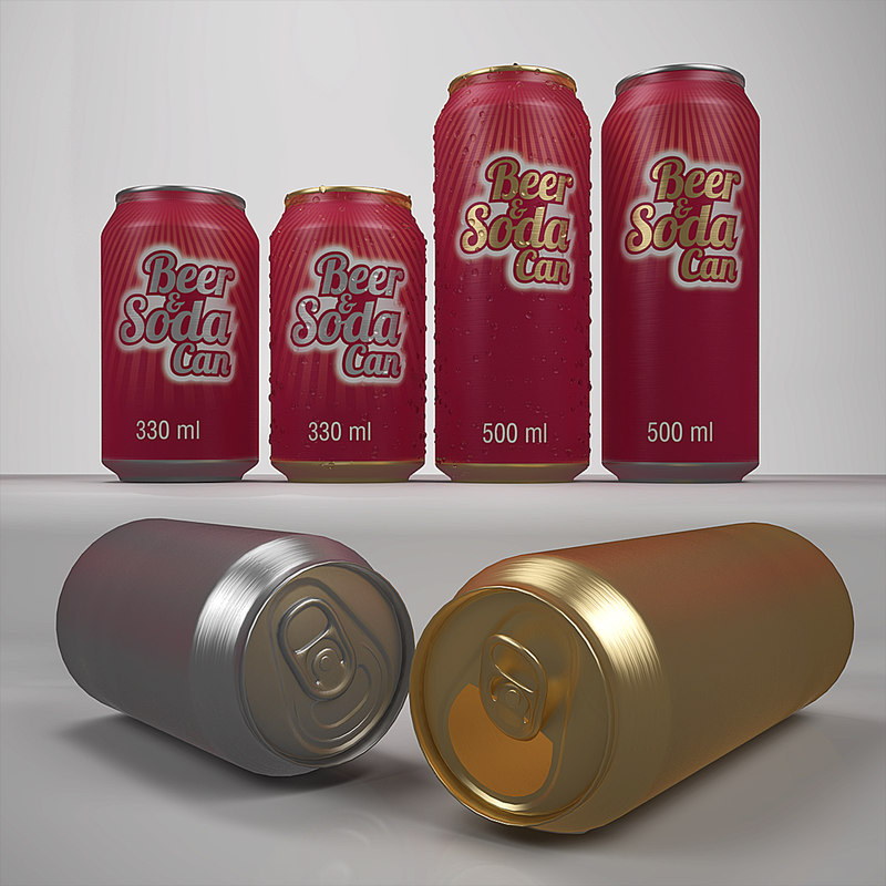 max beer soda cans 330