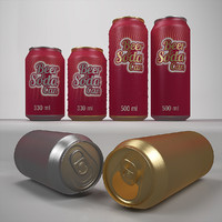 Beer & Soda can 330 ml 500 ml