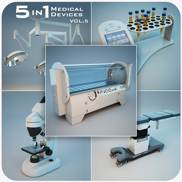 3d model medical devices 5 1