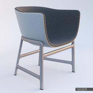 3d minuscule cm200 chair model