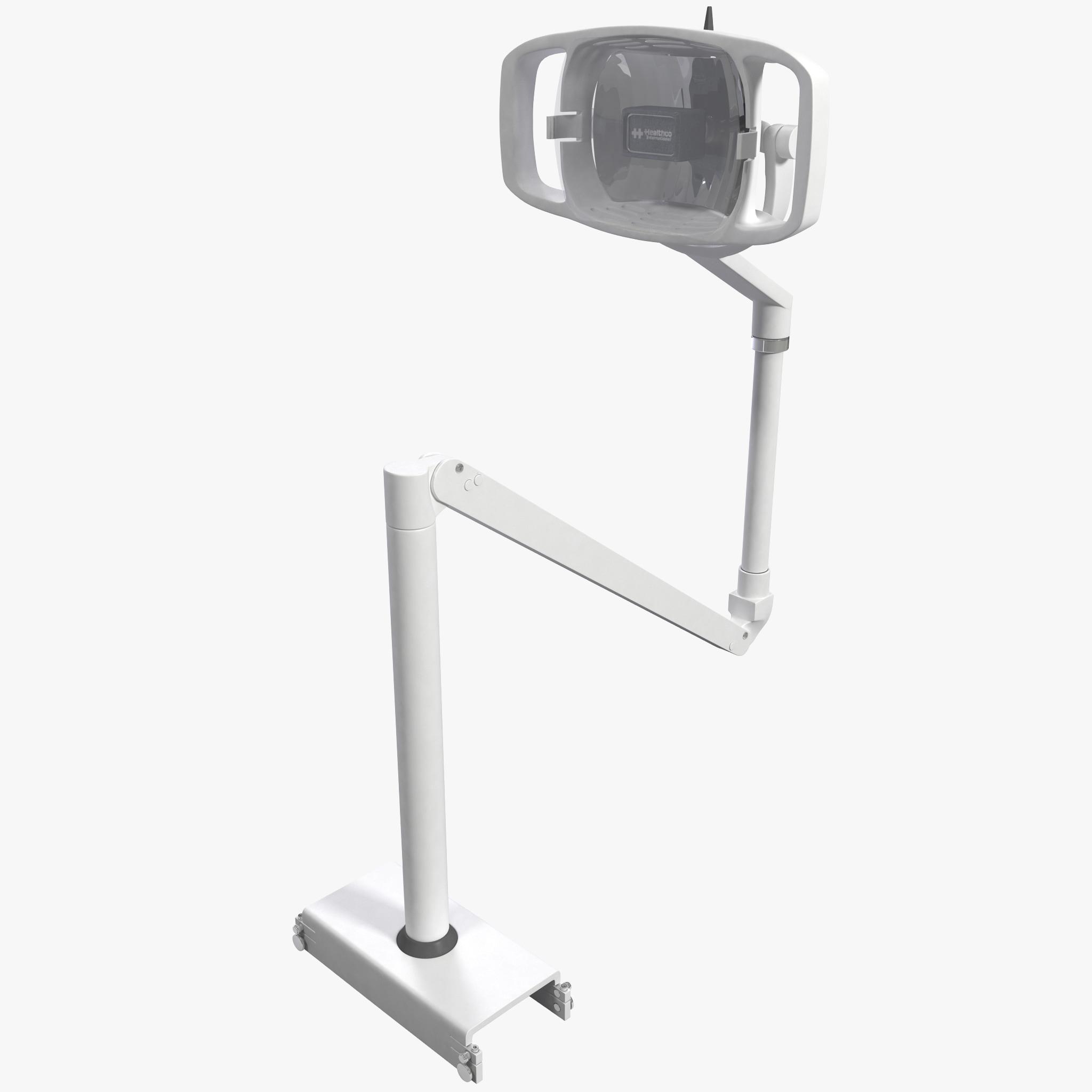 dentist lamp 3d model