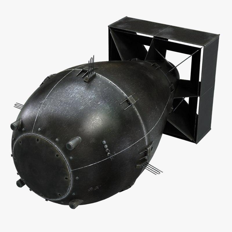 fat man atomic bomb 3ds