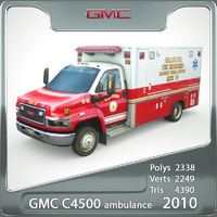 GMC ambulance 2010