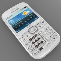 samsung chat 333 3d model