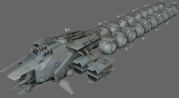 fuel transport 3d model