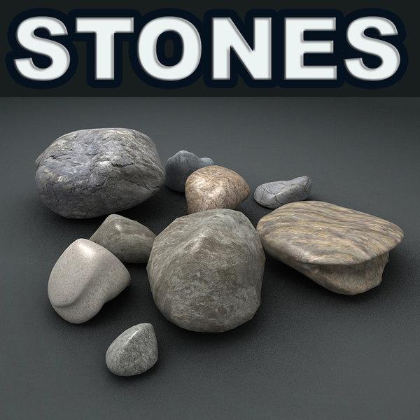 stones obj