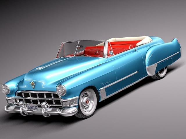 3ds max american v8 antique luxury