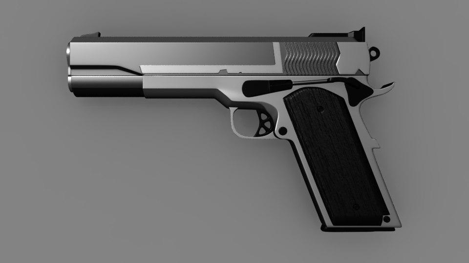 maya weapon gun