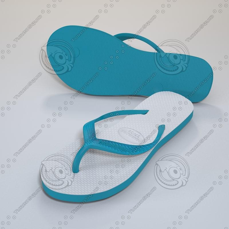 3d havaianas sandals