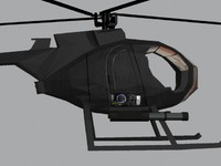 max little bird helicopter
