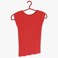 sleeveless wo 3d model