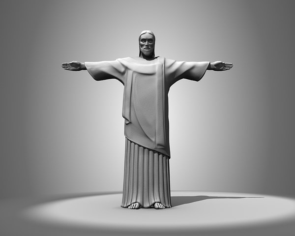 christ redeemer 3d 3ds