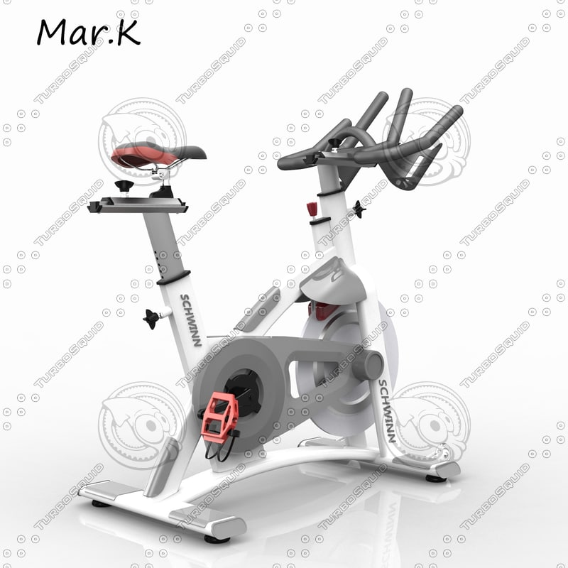 3d 3ds exercise bike