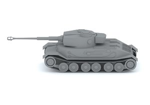 3d pz kpfw vi tiger model