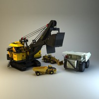 Mining Vehicles 4