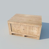 container wood 2011 3d model