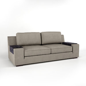 sofa hector 3d model