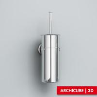 3d brush holder model