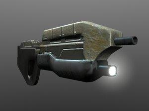 maya gun rifle