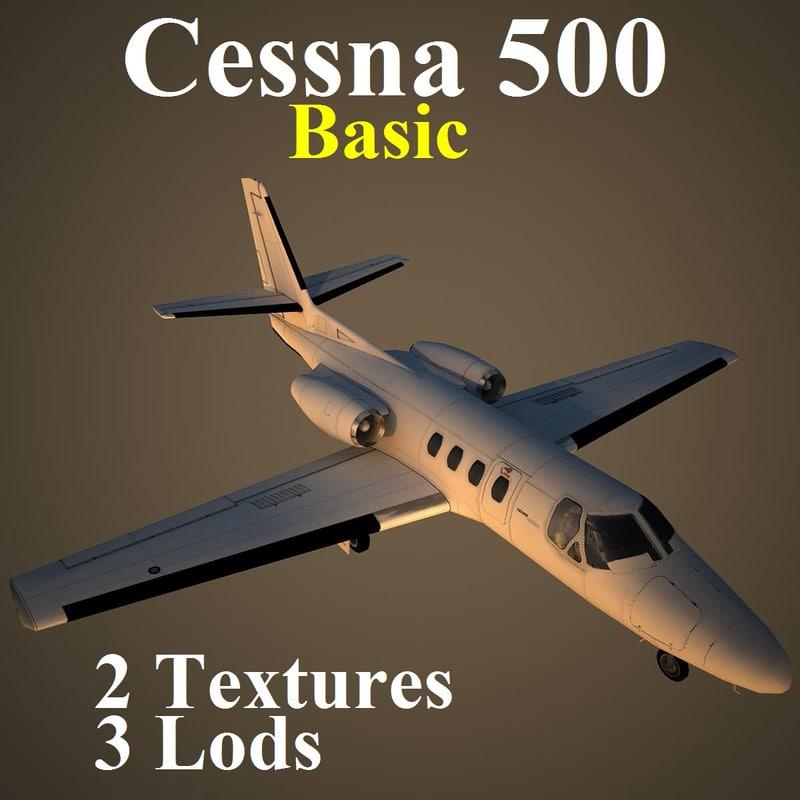 cessna 500 basic max