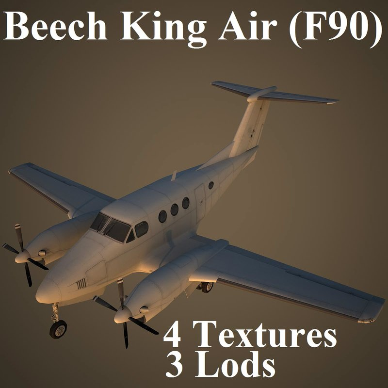 beech king 3d max