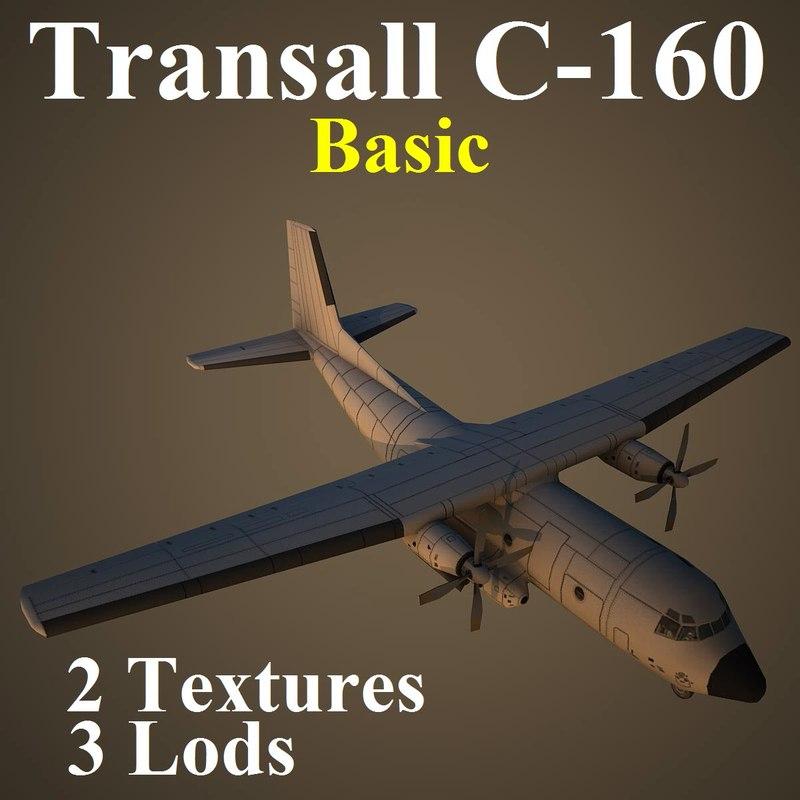 max transall basic aircraft