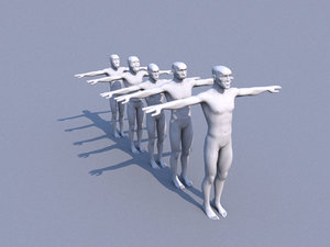 3d human evolution graph model