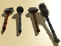 maya maces warhammers